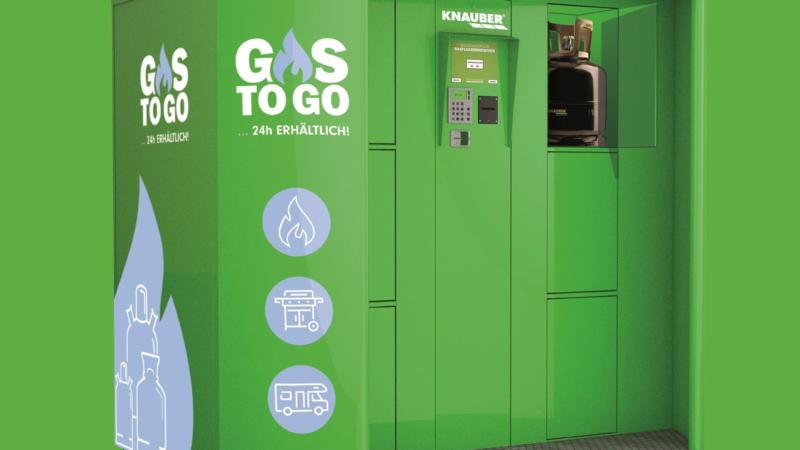 """""""GAS TO GO"""": Grill-Gasflaschen aus dem Automaten"""