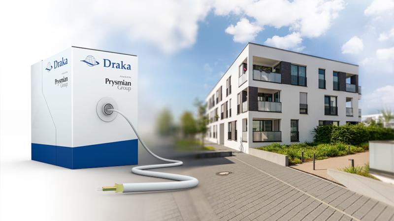 Draka-Glasfaserkabel für Heimverkabelung ab sofort in praktischer 250-Meter-Reelex-Box