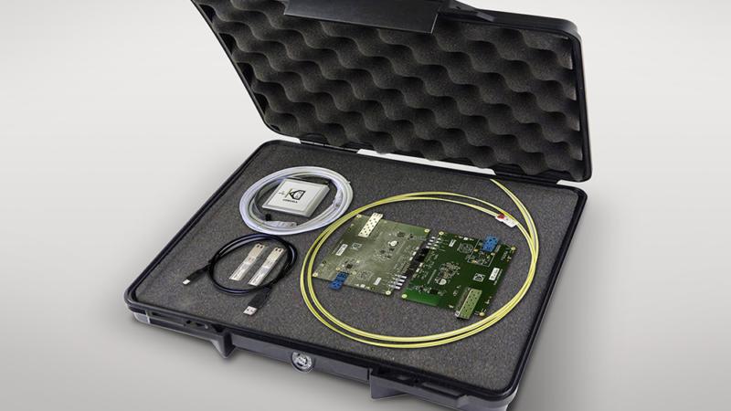 EVK9351AUT beschleunigt Projekteinstieg in optische Gigabit-Konnektivität