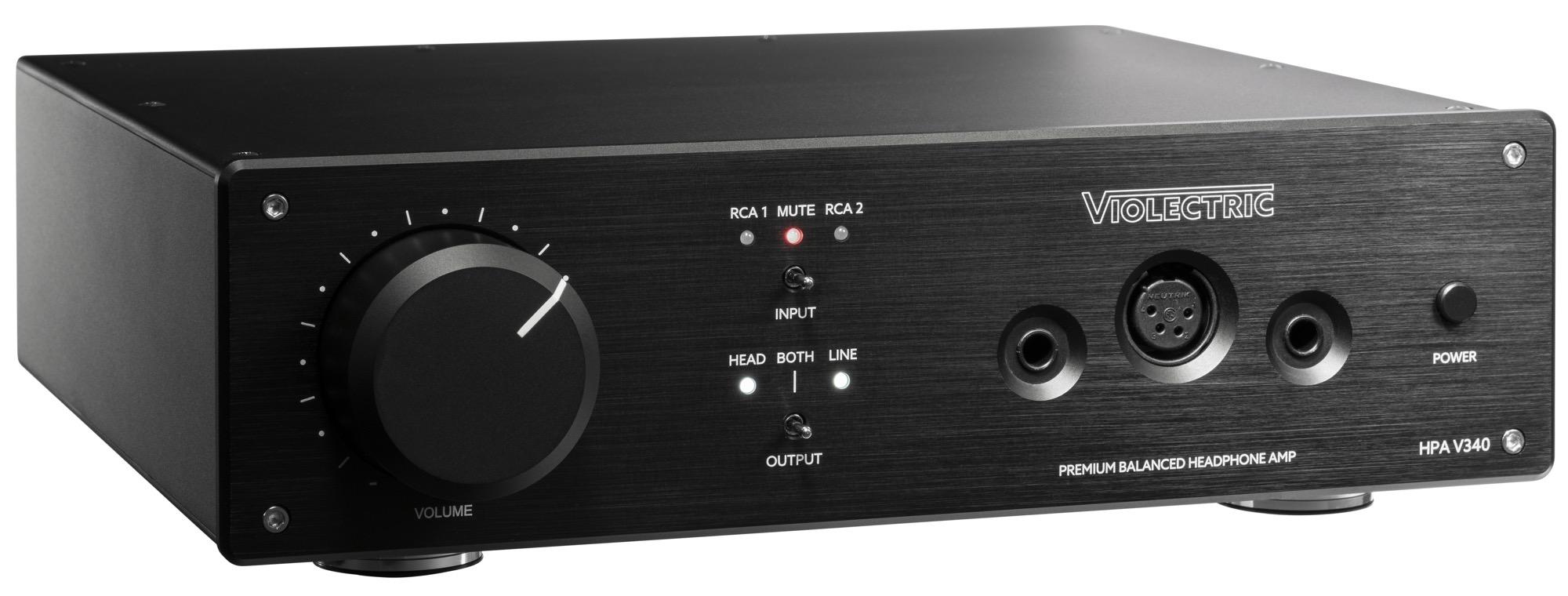Violectric HPA V340 bietet exzellenten Kopfhörer-Klang in bester Manufaktur-Qualität