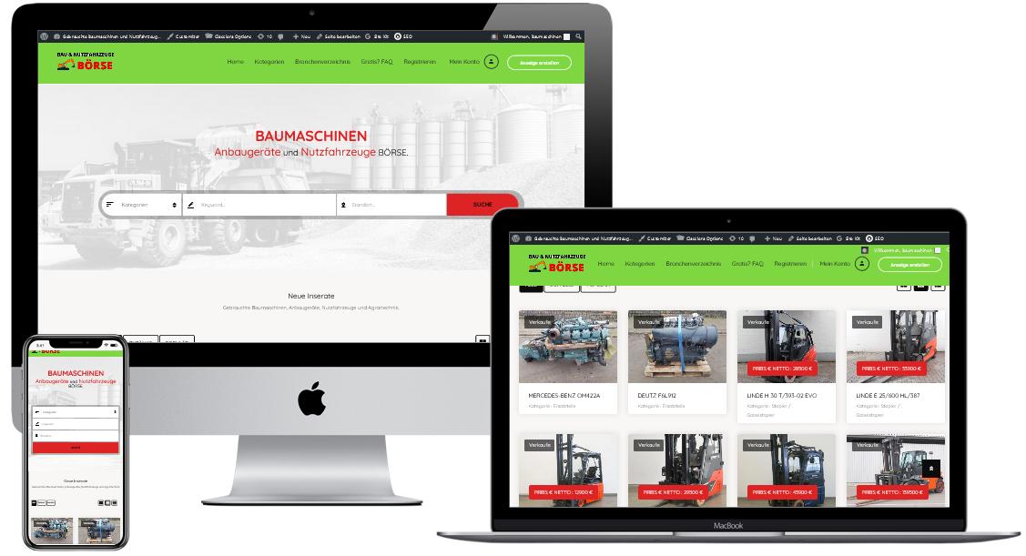 Gebrauchte Baumaschinen Kleinanzeigen Portal