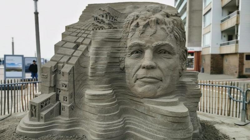 Zandvoort: Martijn Rijerse wird Europas Sandskulpturen-Meister 2021