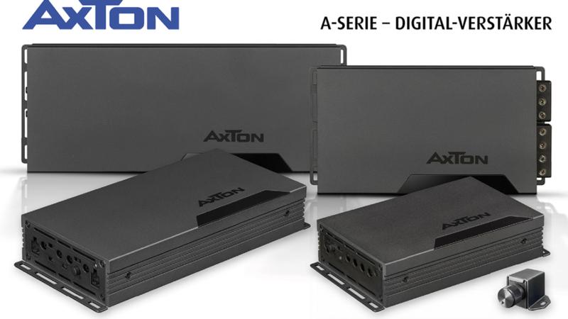 Klein, aber leistungsstark – AXTONs Digital-Verstärker