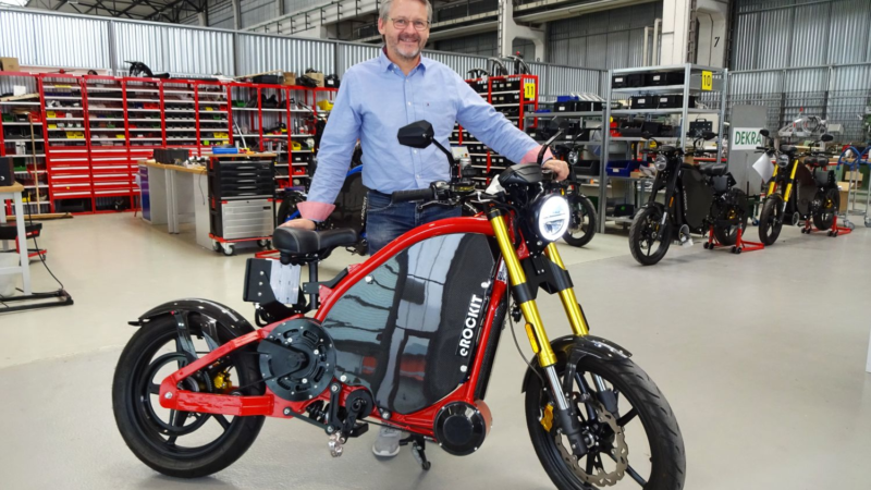 Innovatives Elektromotorrad holt sich Verstärkung: Markus Leder wird COO bei eROCKIT Systems