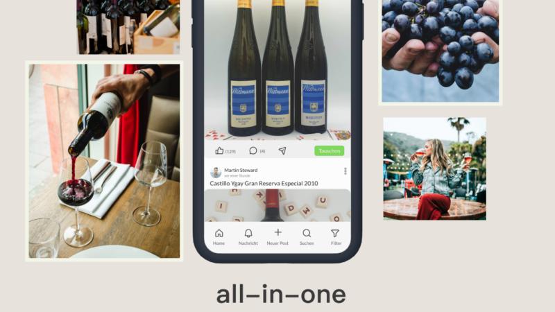 Flaschenpiraten: Erste Community Marktplatz App für Wein