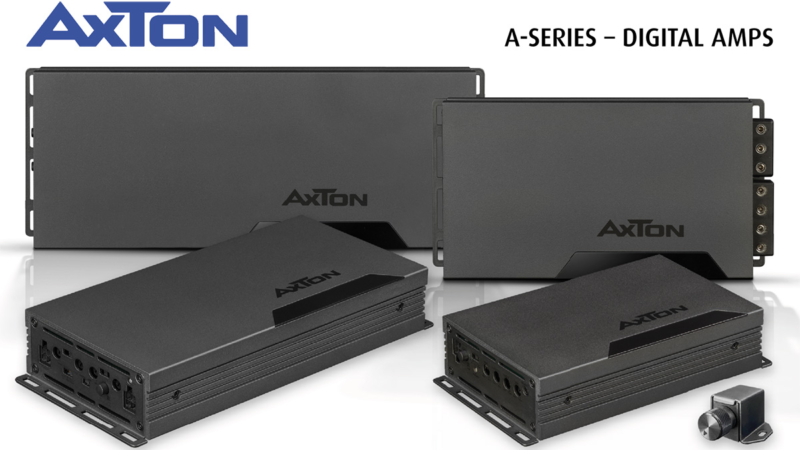 Small, but powerful – AXTON digital amplifiers