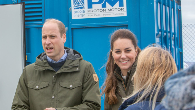 """Royal couple visited Proton Motor""""s fuel cell power plant on Orkney"""