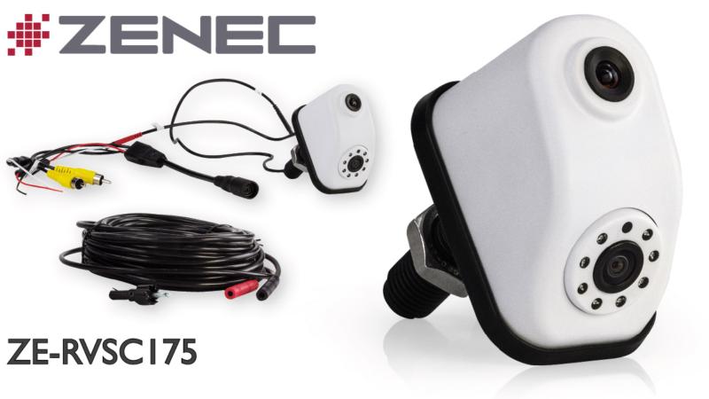 Parkassistent – ZENECs Doppel Rückfahrkamera ZE-RVSC175
