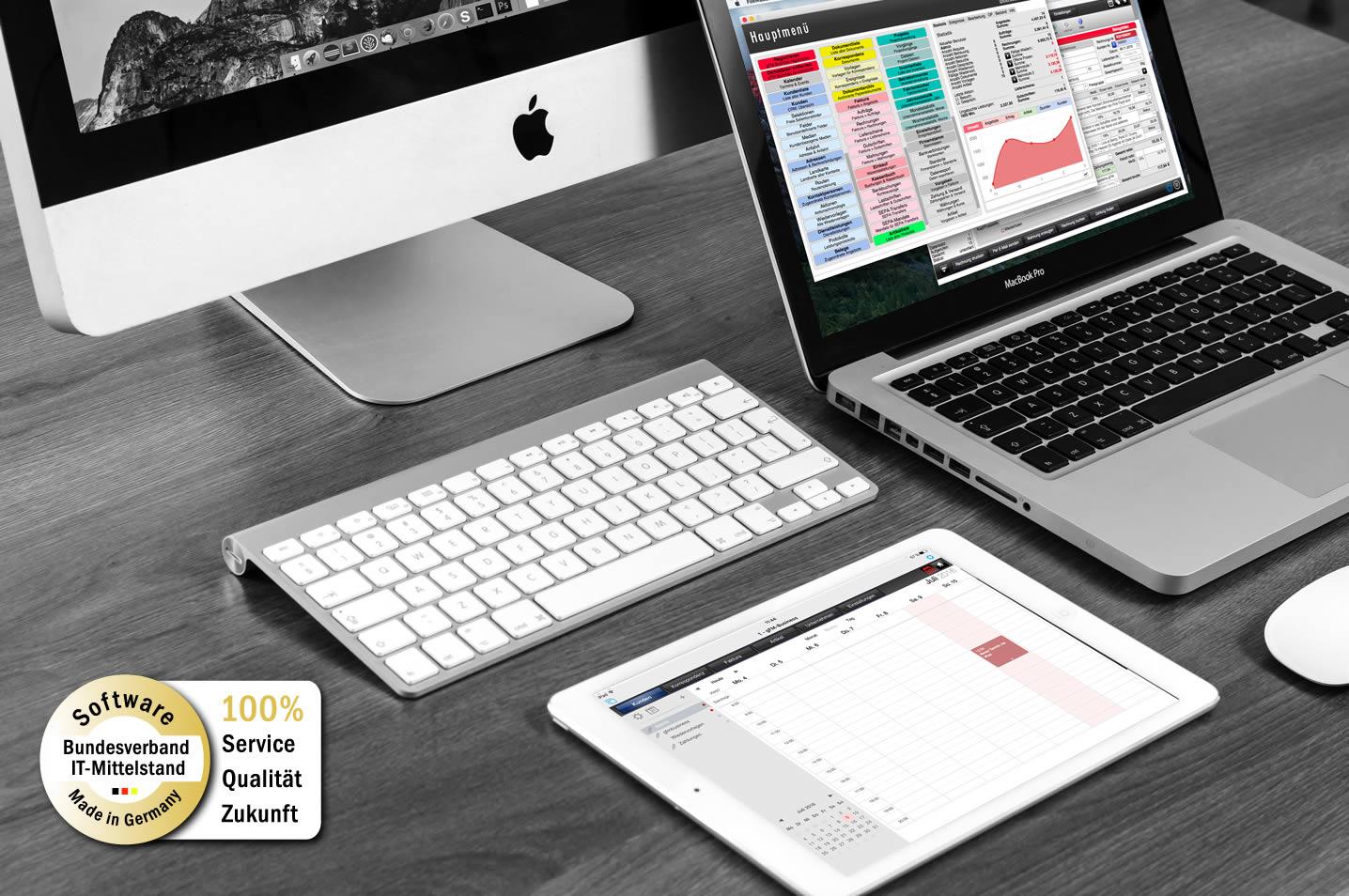 gFM-Business 5.3 ERP-Software für Mac, PC und iOS mit neuen Funktionen