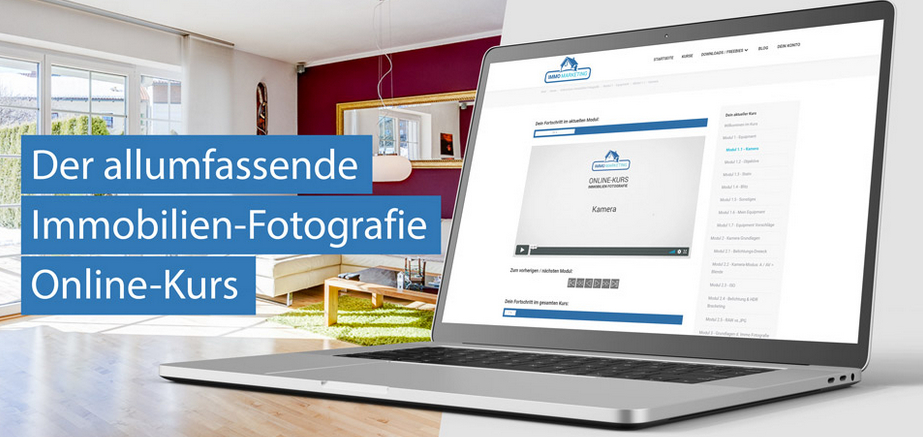 Der allumfassende Immobilienfotografie Online-Kurs