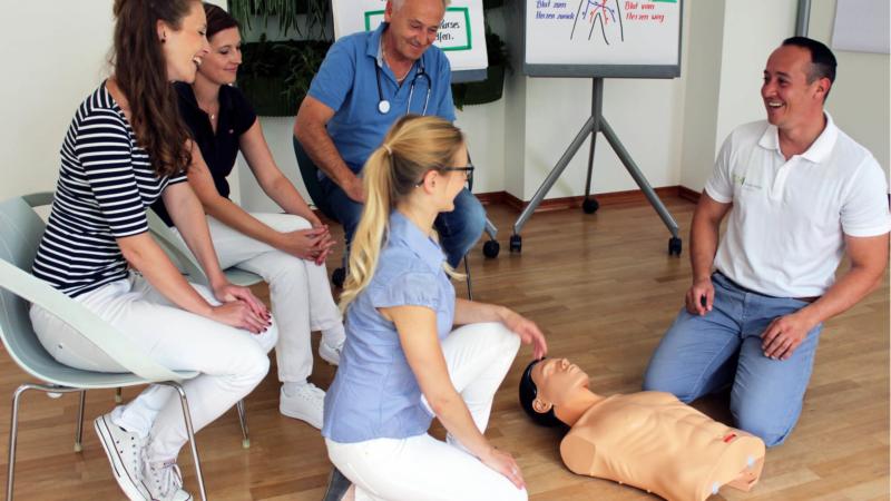 Die Teilnahme an einem Erste Hilfe Kurs rettet Leben!