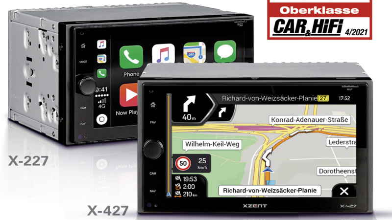 Highlight: XZENT's New 2-DIN Infotainers X-427 and X-227