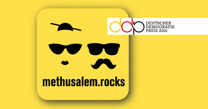 Deutscher Demografie Preis 2021 an Methusalem.rocks