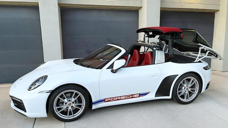 SmartTOP additional convertible top control for Porsche 911 Targa (992) now available