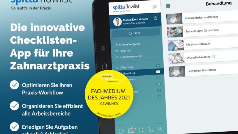 """""""flowlist"""" – ausgezeichnet als Fachmedium des Jahres 2021"""