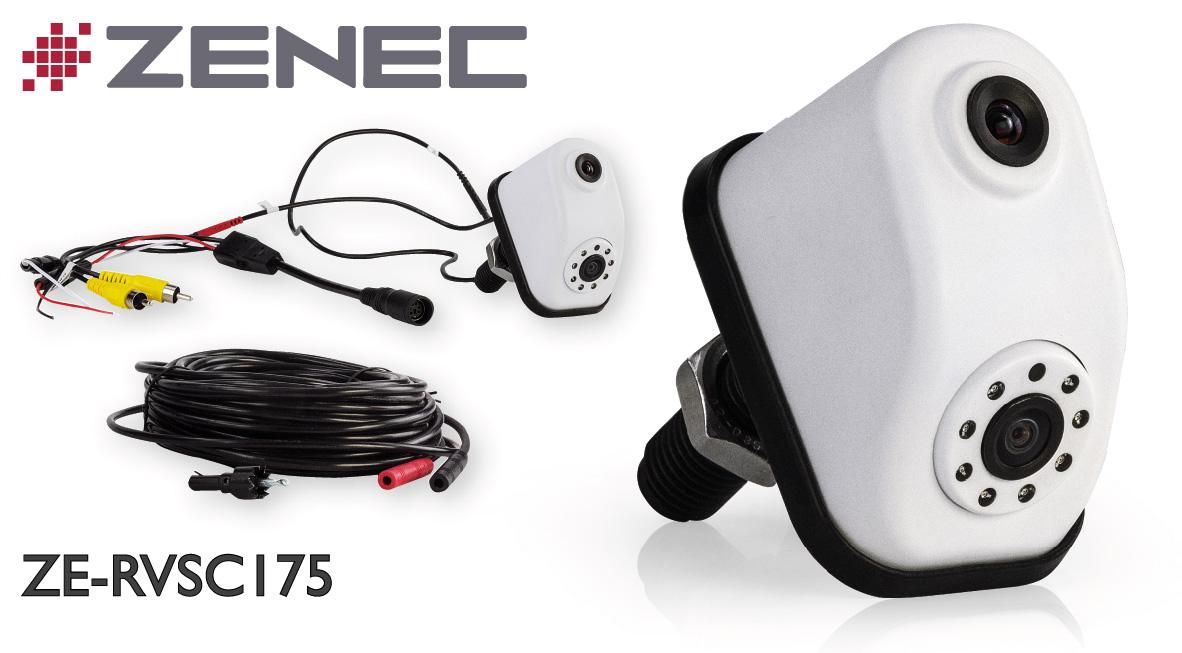 Parking Assistant: ZENEC's Twin Lens Rear-view Camera ZE-RVSC175