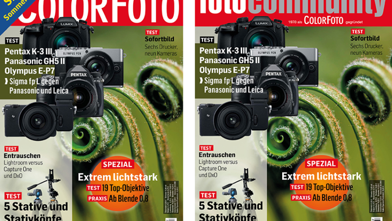 ColorFoto and fotocommunity.de become one brand
