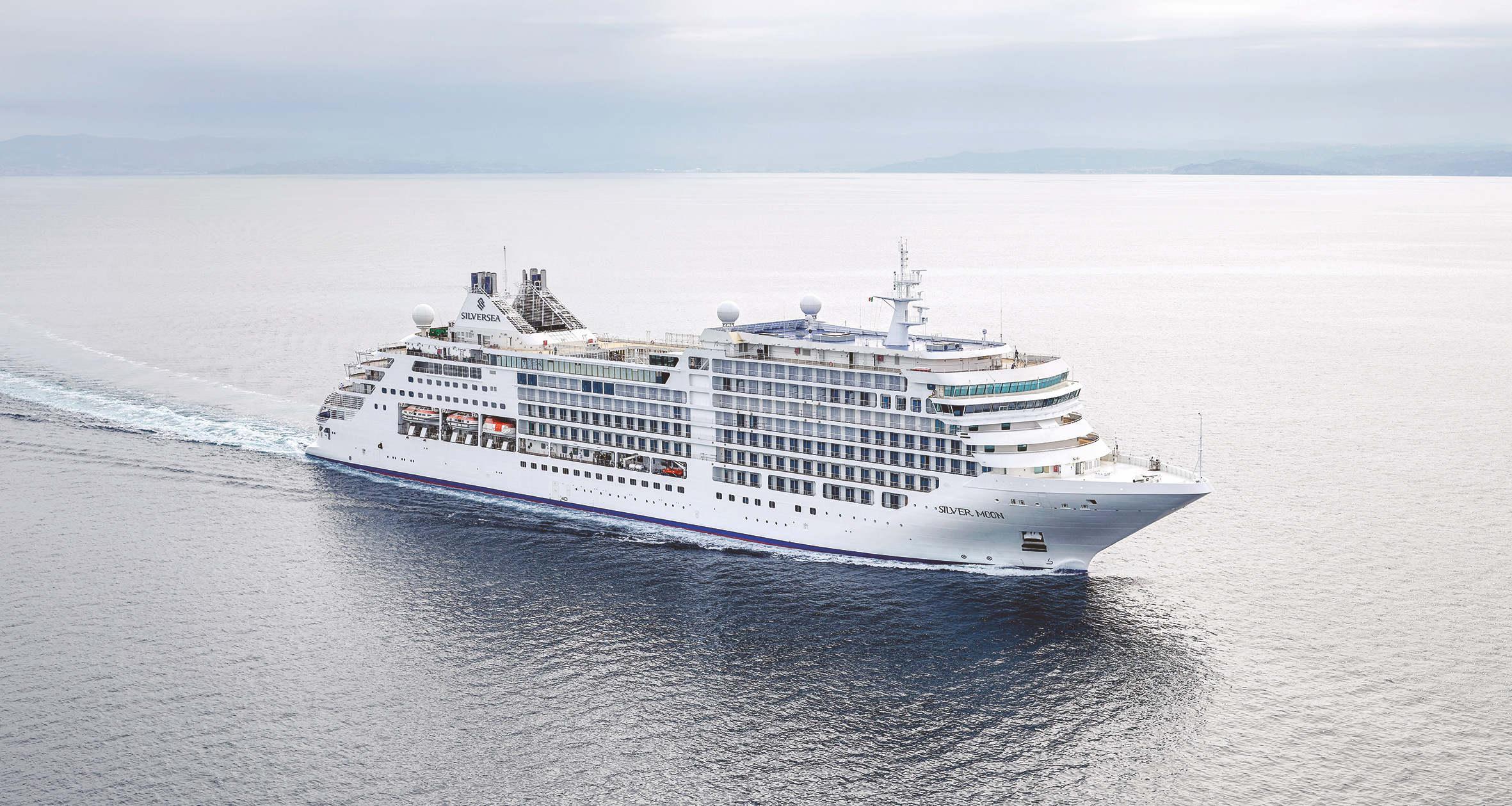 """""""Gemeinsam wieder die Welt entdecken"""": Luxuskreuzfahrt mit der """"Silver Moon"""" durch das östliche Mittelmeer inklusive vieler Extras"""