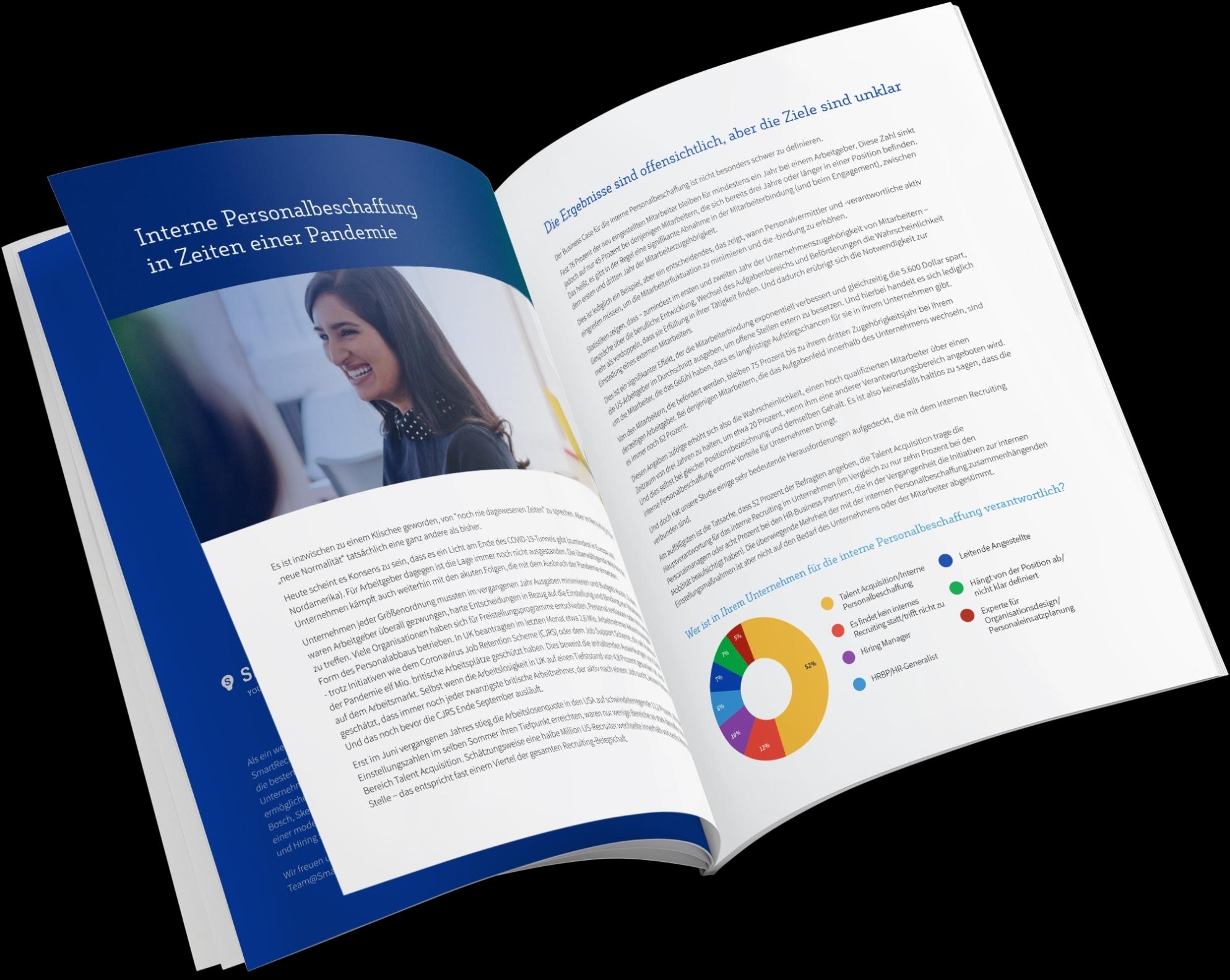 Neu: 2021 State of Internal Recruiting Report von SmartRecruiters – Vermutlich sind die perfekten Kandidat*innen schon im Unternehmen