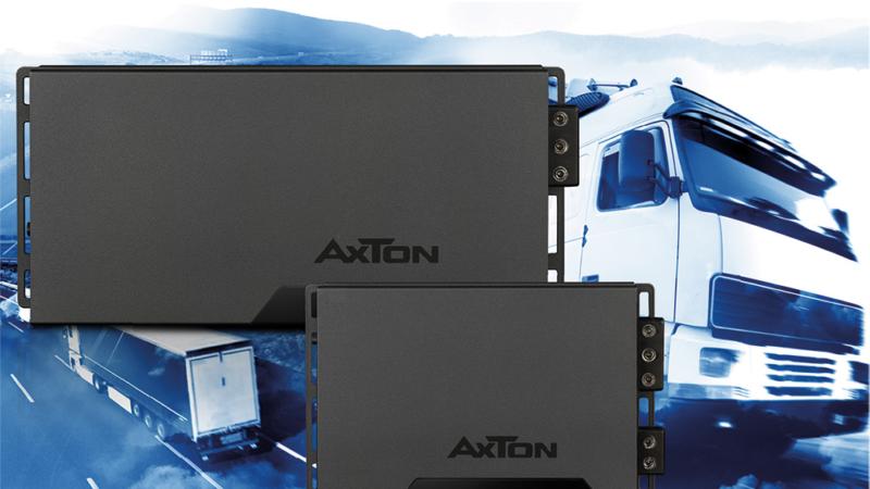Hi-Fi Sound im LKW mit AXTONs neuen 24 Volt Verstärkern