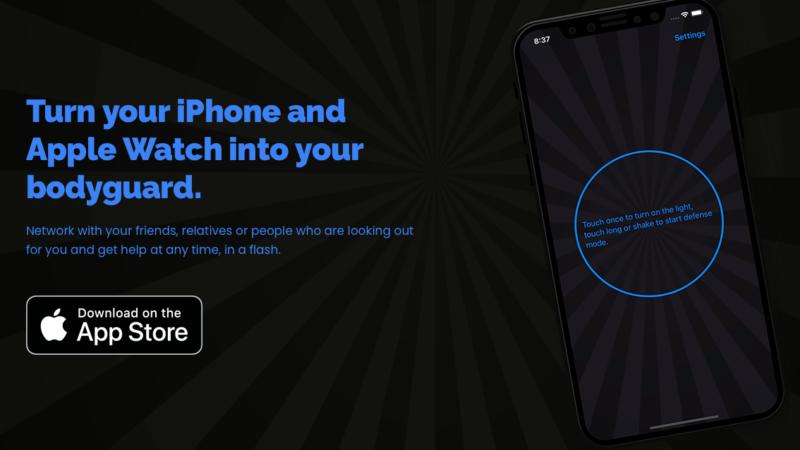 Defapp macht iPhone und Apple Watch zum Bodyguard