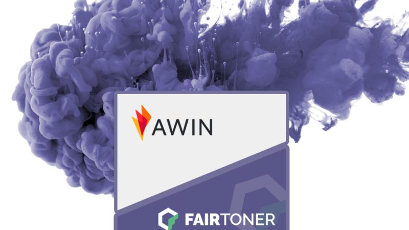 FairToner.de Partnerprogramm bei Awin gestartet