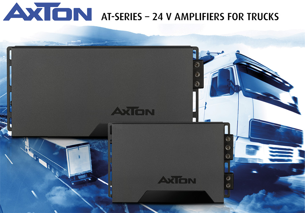 Hi-fi Sound in the Truck with AXTON's 24-Volt Amps