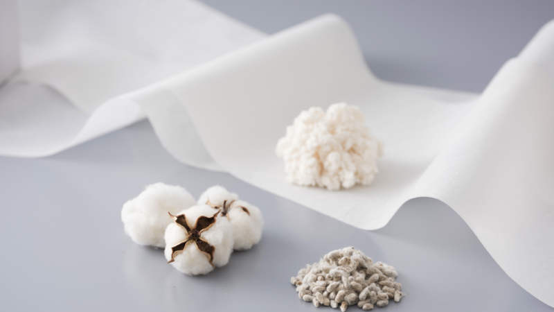 Sustainable non-woven fabric Bemliese™ certified as marine biodegradable