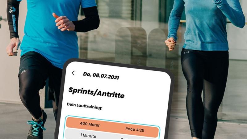 Laufen mit Qualität – Individuelles Lauftraining für alle: HiRunner launcht Trainings-App