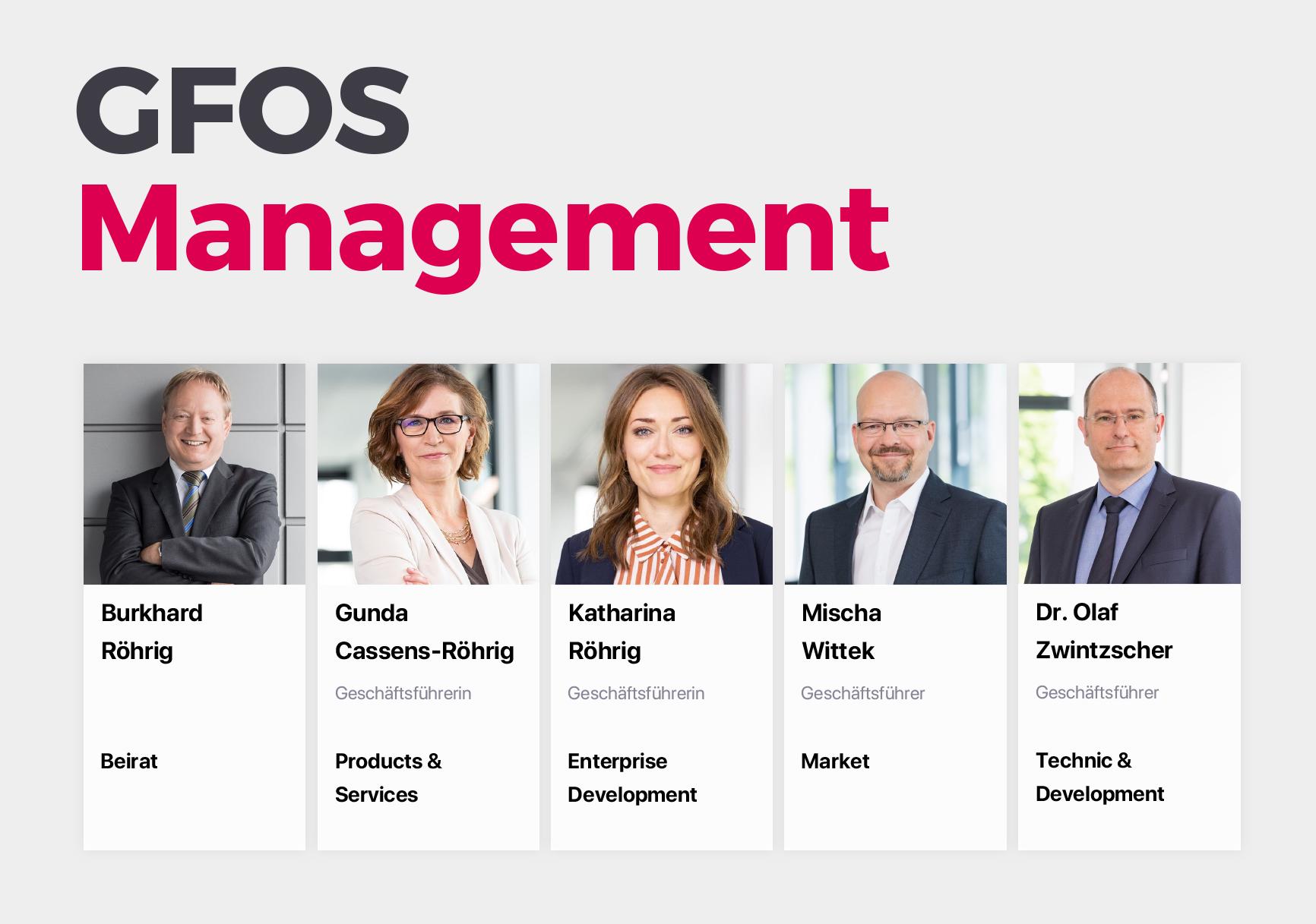 Generationswechsel beim Digitalisierungsexperten GFOS