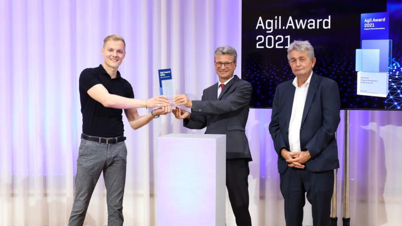 SWAN gewinnt Agil.Award 2021