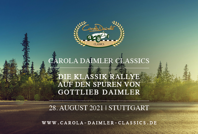 "Die erste ""Carola Daimler Classics"" am 28. August"
