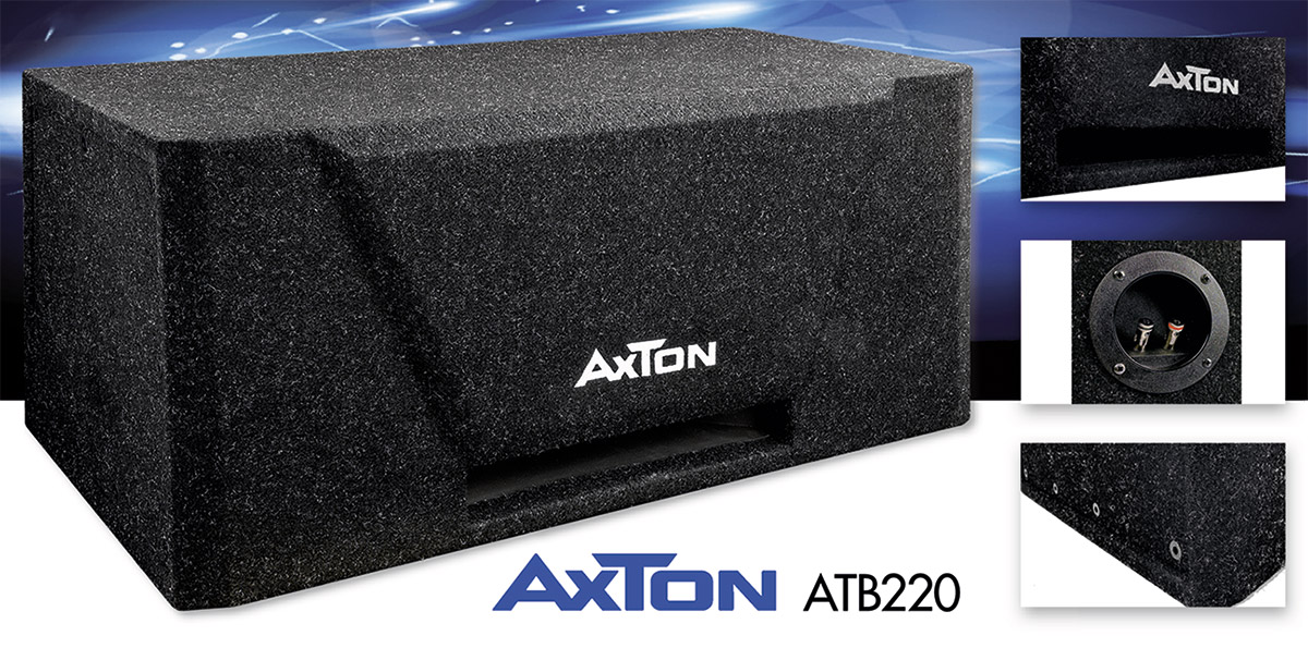 Basspower im Kofferraum – AXTONs neuer Subwoofer ATB220