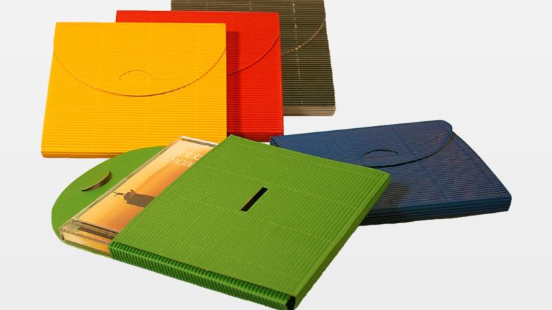 Kronenberg 24.de stellt vor: CD-Geschenktasche aus Schmuckwelle in verschiedenen Farben