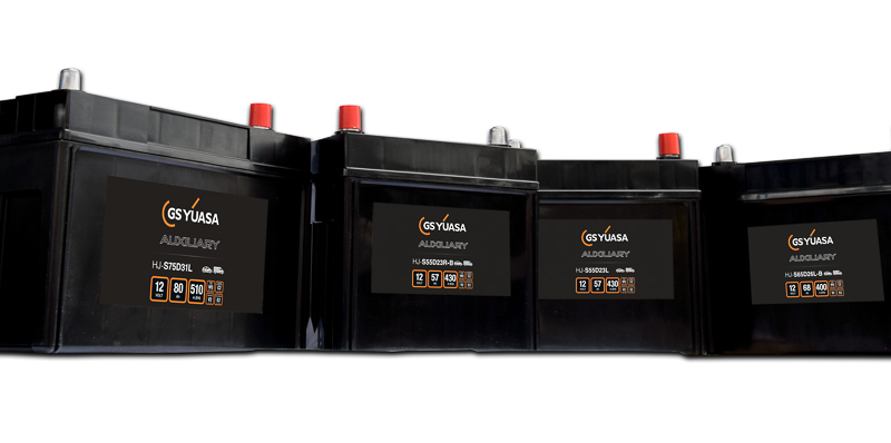 GS YUASA erweitert Hilfsbatterie-Programm für Kfz