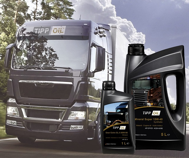 Performance and reliability for your Truck with TippOil