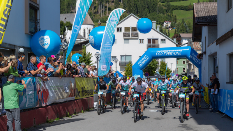 E-Bike WM für Jedermann in Ischgl zu Gast