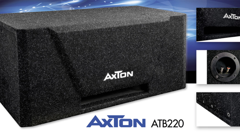 Bass Power in the Trunk – AXTON's New Subwoofer ATB220