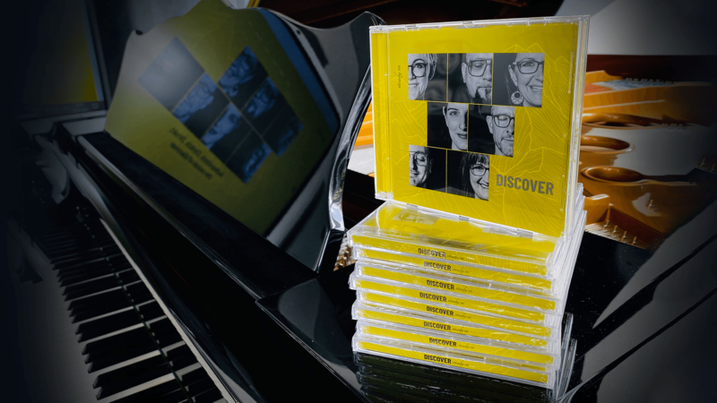 """Discover – das neue Album """"steady on"""" ist ab sofort erhältlich"""
