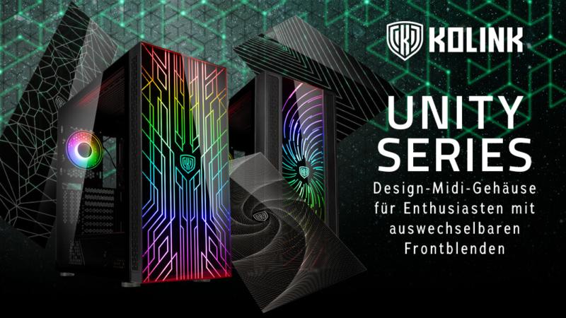 Kolink Unity Series: wandelbares Design, Premium-Features