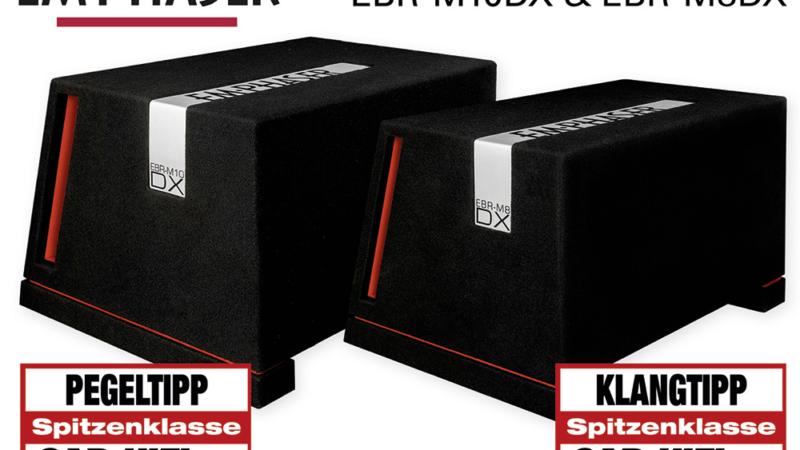 Schweres Gerät – EMPHASERs Bassboxen EBR-M8DX und EBR-M10DX