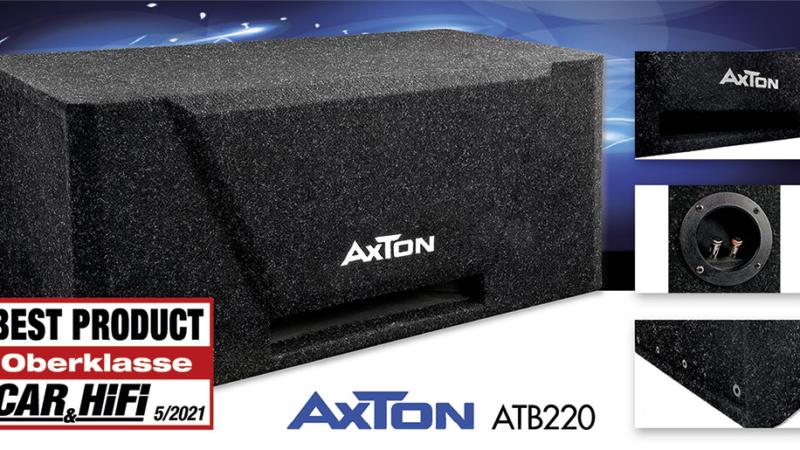 Fetter Sound – AXTONs Bandpass-Subwoofer ATB220 getestet