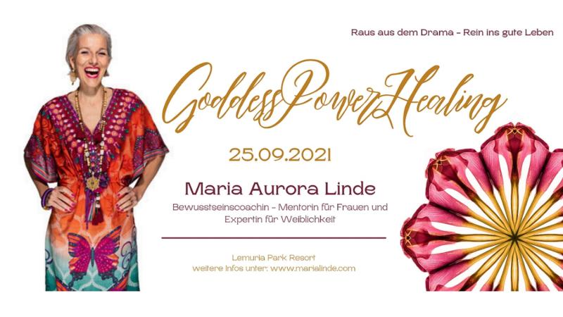 Erwecke die Göttin in dir beim GoddessPowerHealing Celebration Event!