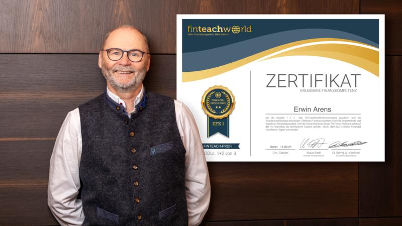 Erlebbare Finanzkompetenz mit Erwin Arens