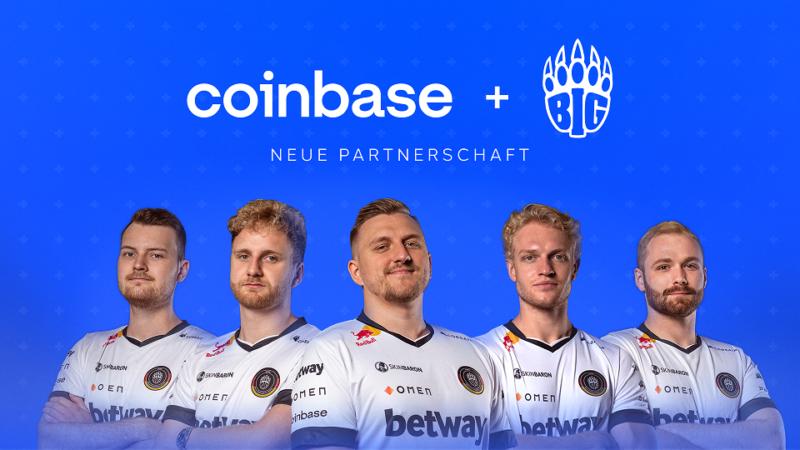 Coinbase und BIG geben Partnerschaft bekannt