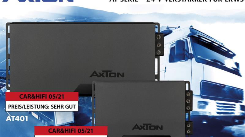 Verblüffendes Leistungspotential – AXTONs LKW Verstärker