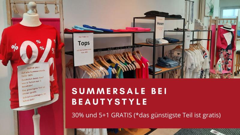 30% Rabatt beim beautystyle SALE