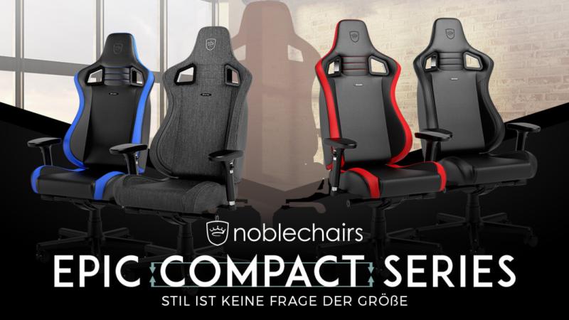 noblechairs EPIC Compact – Stil ist keine Frage der Größe