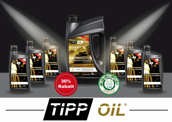 TIPP OIL  -a German brand with high quality standards