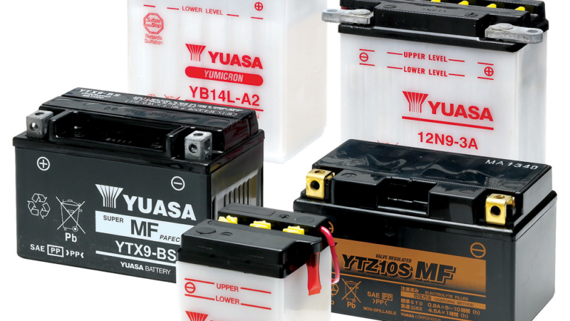 Tipps für die Lagerung und Wartung von Motorradbatterien
